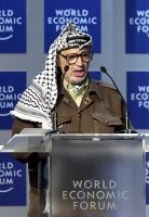 Arafat / Bron: World Economic Forum - Remy Steinegger / Wikimedia Commons